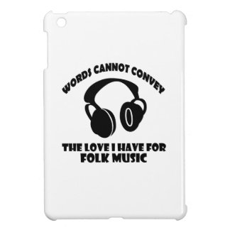 Folk Music designs iPad Mini Cover