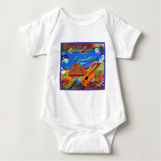 Folk Music Is Alive and Well Baby Bodysuit