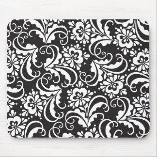 folk pattern mouse pad
