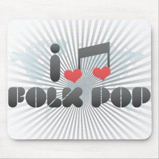 Folk Pop fan Mouse Pad