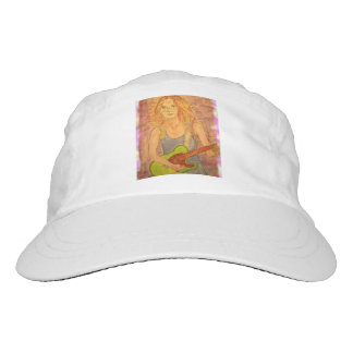 folk rock girl art headsweats hat