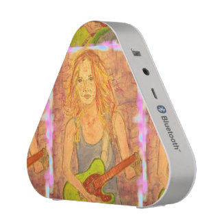 folk rock girl Art Speaker