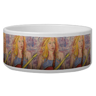 folk rock girl reflections bowl