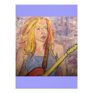 folk rock girl reflections announcement