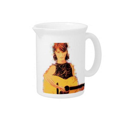 folk singer acoustic girl pitchers