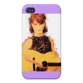 folk singer girl iPhone 4 cases