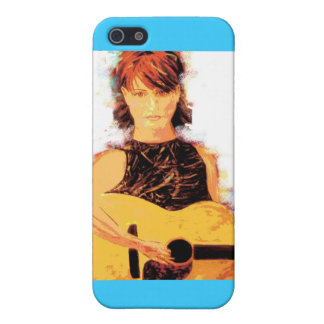 folk singer girl iPhone 5 cases