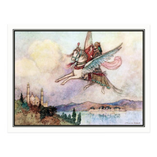Folk Tales of Bengal by Warwick Goble Postcard