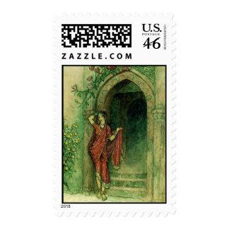 Folk Tales of Bengal Vintage Fine Art Stamps