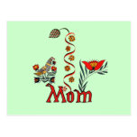Folkart Mom T-shirts and Gifts Postcard