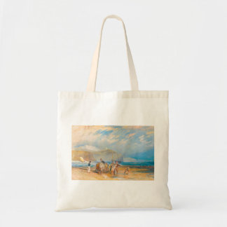 Folkestone Harbour and Coast to Dover, 1829 Tote Bag