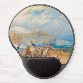 Folkestone Harbour and Coast to Dover, 1829 Gel Mouse Pads