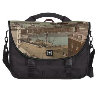 Folkestone Harbour, Kent, England Bag For Laptop