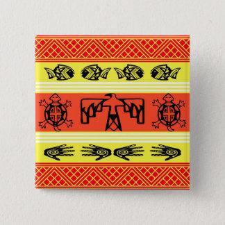 Folklore design button