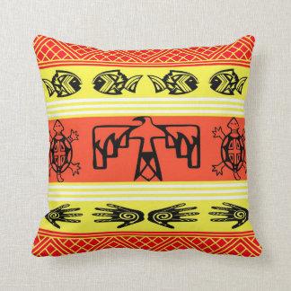 Folklore design pillow