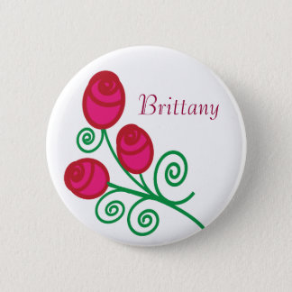 Folklore Roses Button