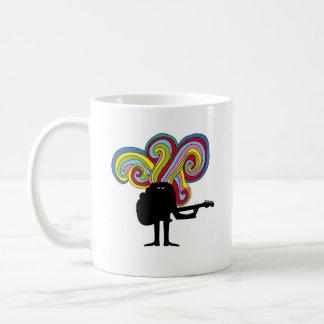 Folksinger colorido tazas de café