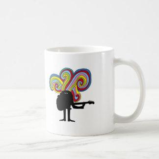 Folksinger colorido taza de café