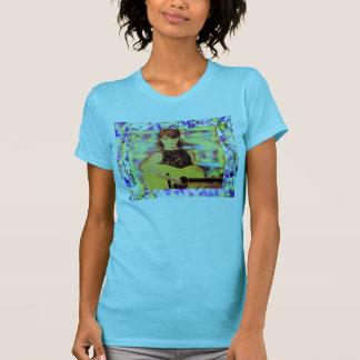 folksinger girl purple drip T-Shirt