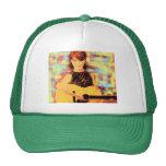 folksinger girl trucker hats