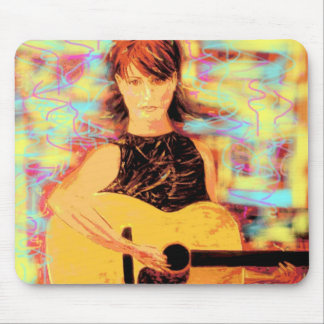 folksinger mouse pad