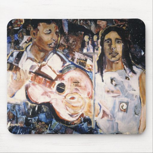 Folksingers Mouse Pad