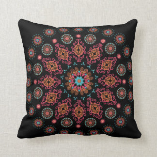 Folksy Jewel Circle Cushion