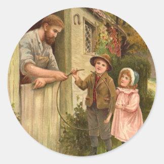 Folktale Classic Round Sticker