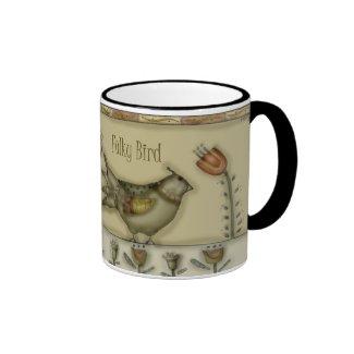 Folky Bird Mug