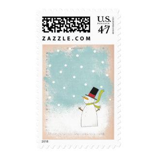 Folky Frosty Stamp