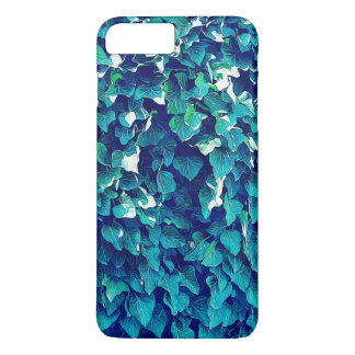 Follaje azul y verde funda iPhone 7 plus