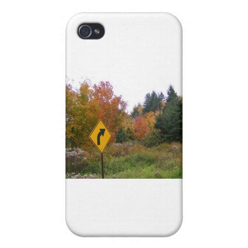 Follaje de Maine iPhone 4/4S Carcasa