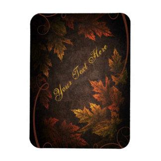 Follaje de otoño imanes