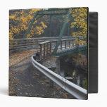 Follaje de otoño y un puente sobre los molineros