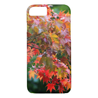 Follaje del arce del otoño funda iPhone 7