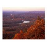 Follaje del Monte Holyoke Tarjetas Postales