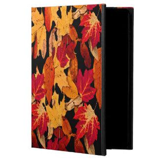 Follaje del otoño en Brown amarillo anaranjado
