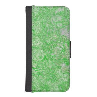 Follaje verde carteras