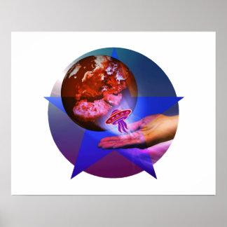 Folleto planetario posters