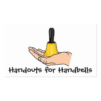 Folletos para los Handbells Tarjetas De Visita