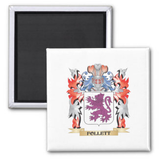 Follett Coat of Arms - Family Crest Magnet