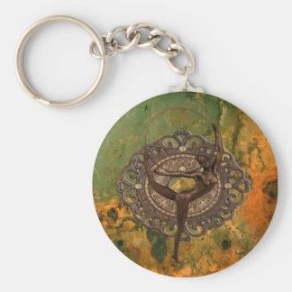 Follies Bergère in Paris 1920 Basic Round Button Keychain