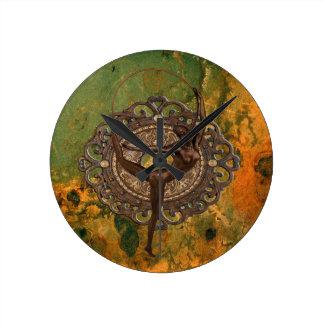 Follies Bergère in Paris 1920 Round Clock