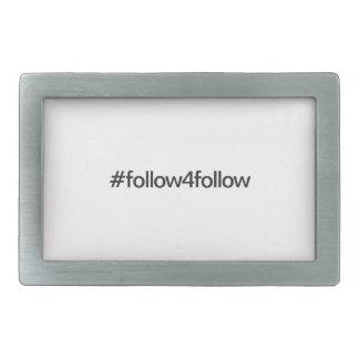 follow4follow belt buckles