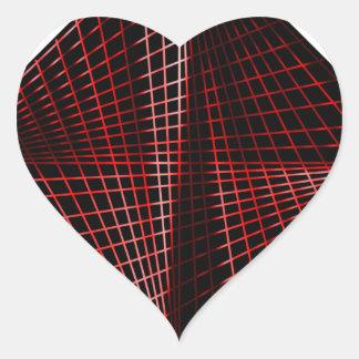 Follow Heart Sticker