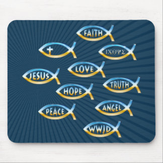 Follow Him | Christian Community Mouse Pad