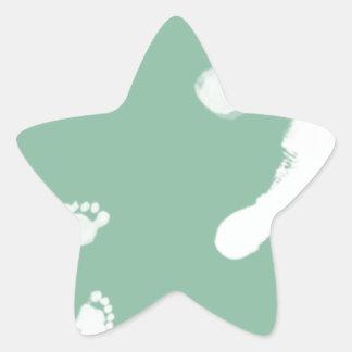 Follow in their Footsteps Star Sticker