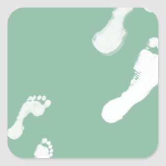 Follow in their Footsteps Stickers