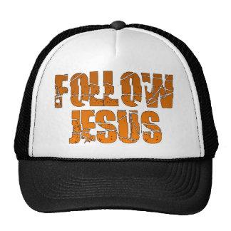 Follow Jesus Christian Trucker Hat