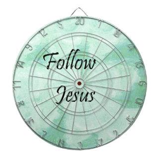 Follow Jesus Dartboard